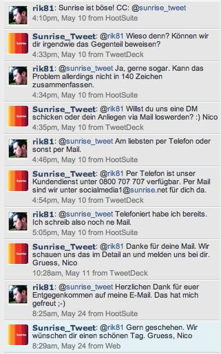 Twitterconversation