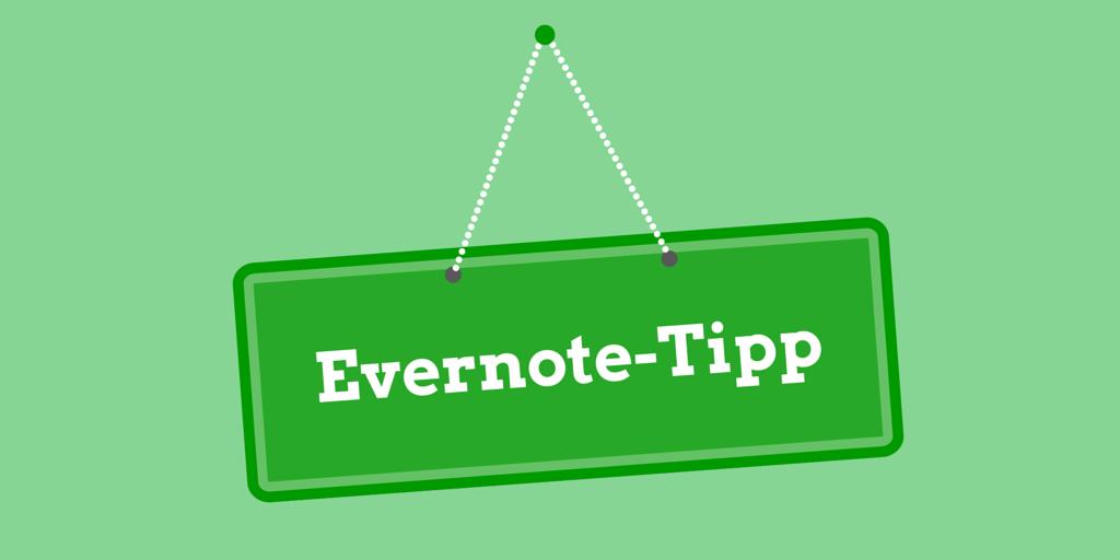 Eernote-Tipp